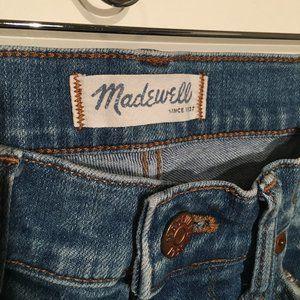 High Riser Skinny Madewell Jeans